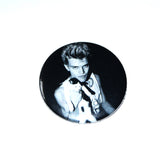 "Billy Idol Holding a Cat 1.75"" Pinback Button"