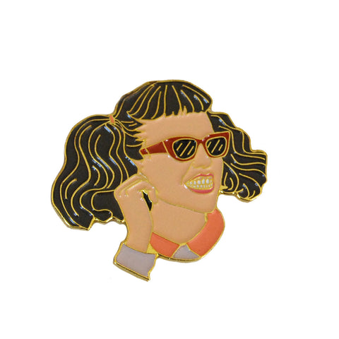 Jan Enamel Pin