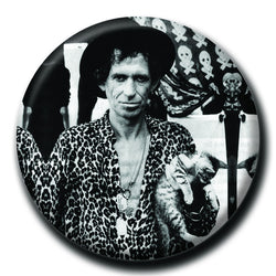 Keith Richards Holding a Cat 1.75