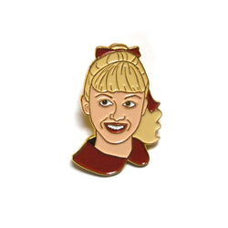 Sandy Enamel Pin