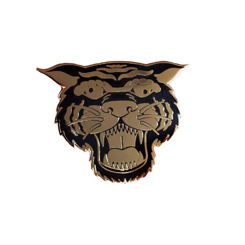 Wacky Tiger Hard Enamel Pin