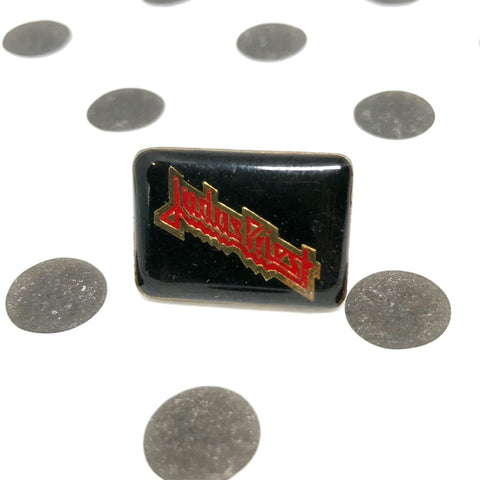 Vintage Judas Priest Enamel Pin