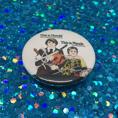 "Harold and Maude 1.75"" Pinback Button"