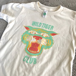 Wild Tiger Club Tee in Mint