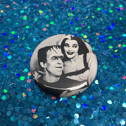 "The Munsters 1.75"" Pinback Button"