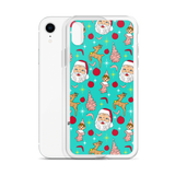 Kitschy Mint Christmas iPhone Case
