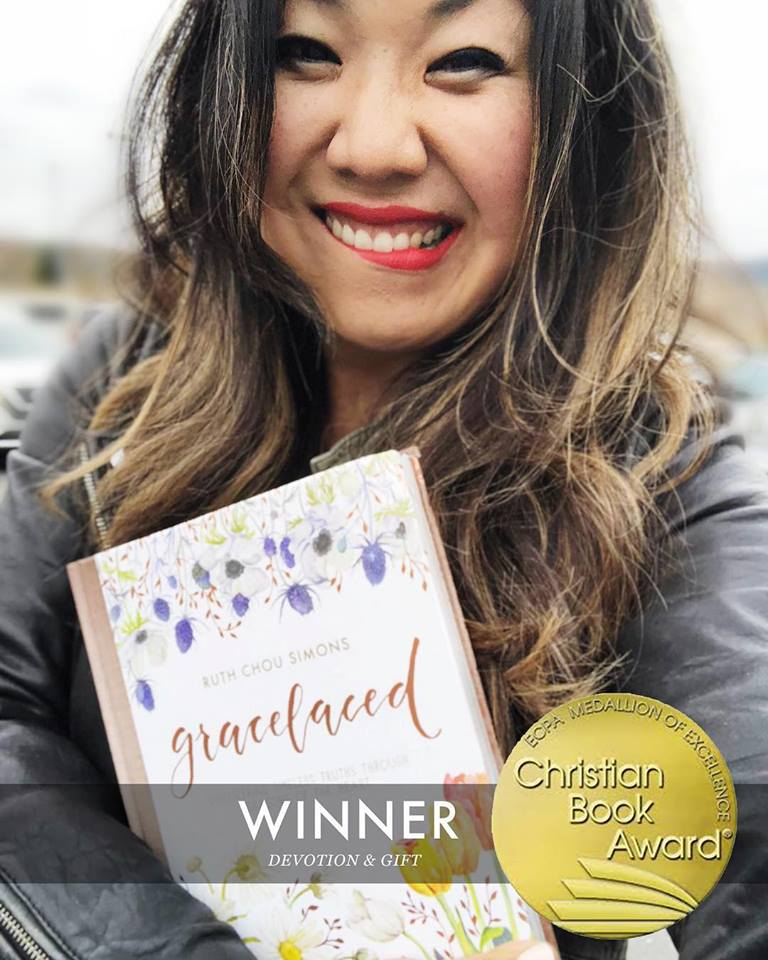 GraceLaced Book Wins 2018 Christian Book Award for Devotion & Gift