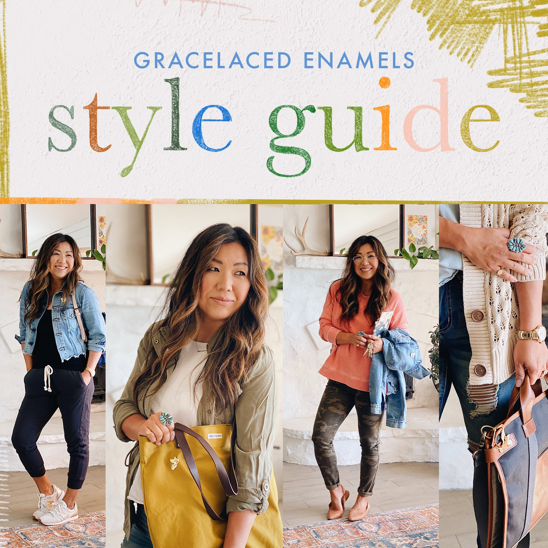 GraceLaced Enamels Style Guide