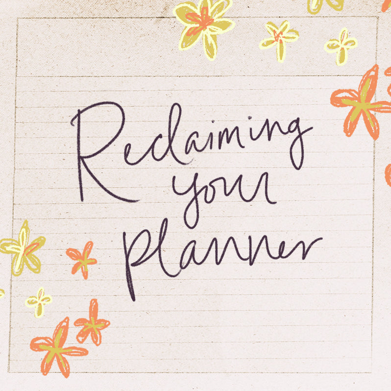 How to Reclaim a Planner With Cancelled Plans