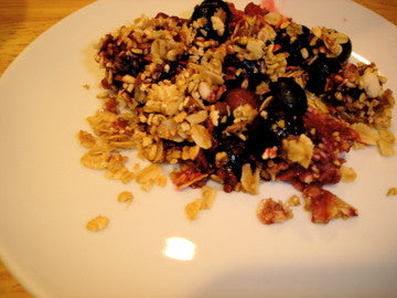 Steel Cut Berry Crisp