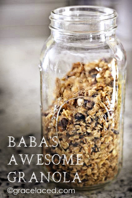 Baba's Awesome Granola