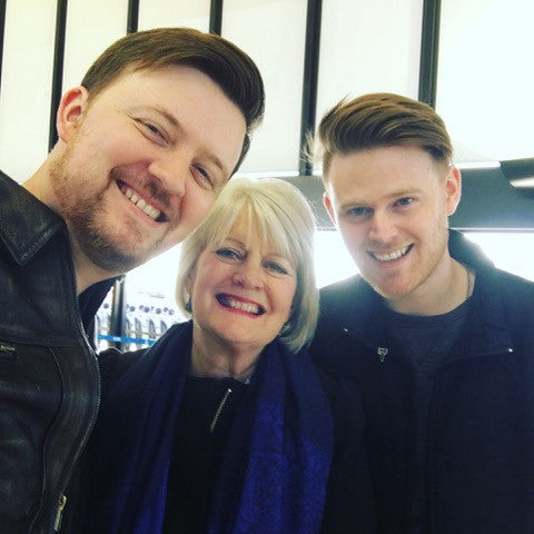 Sally Clarkson with her boys