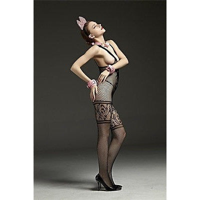 Sexy Fishnet Lace Bodystocking Lingerie Bodysuit Costume Sleepwear - AURABLEND