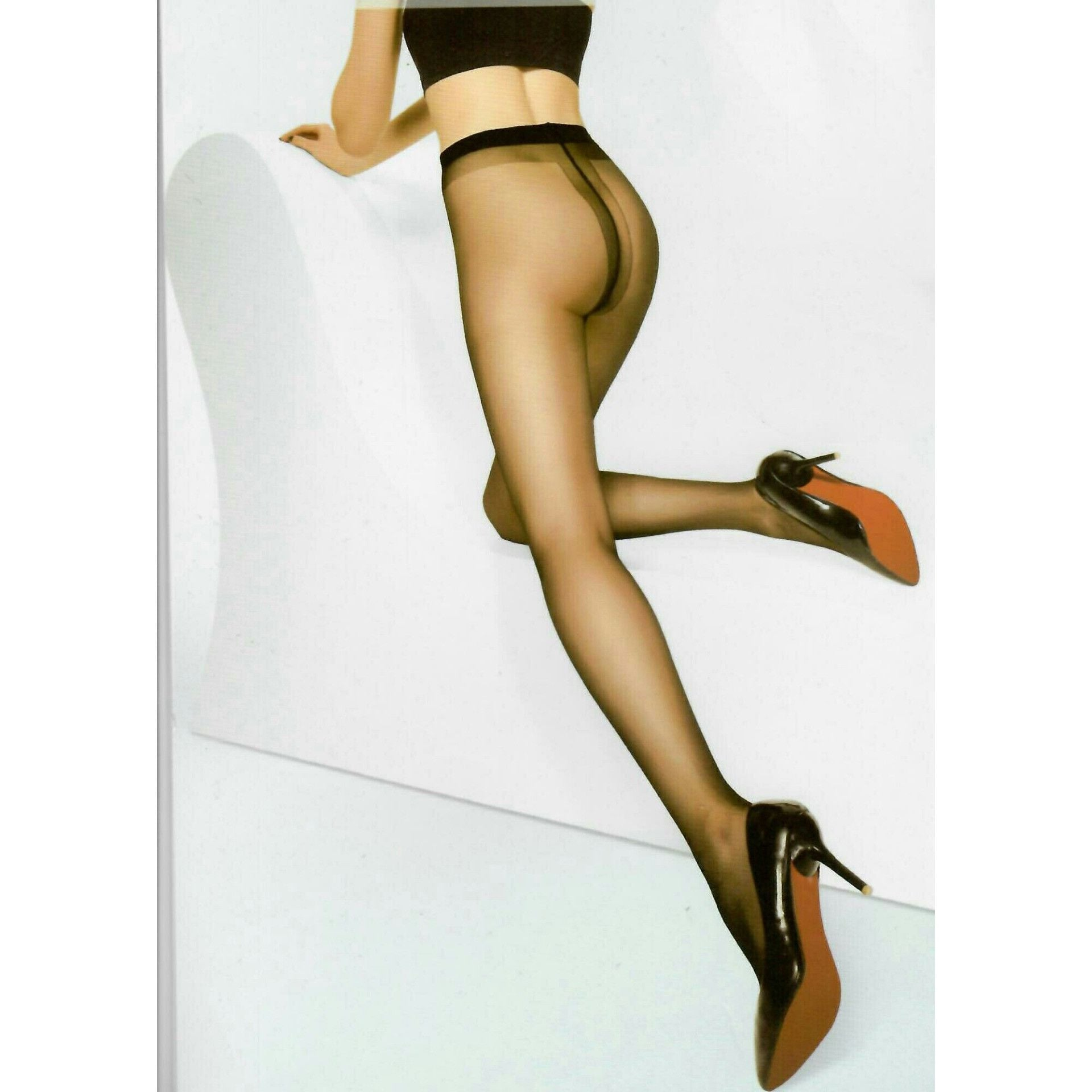 20 Denier Sheer-to-Waist Skinny Fit Clear Control top Pantyhose