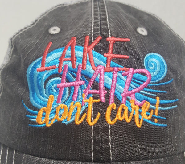 Lake Hair Don't Care Cap