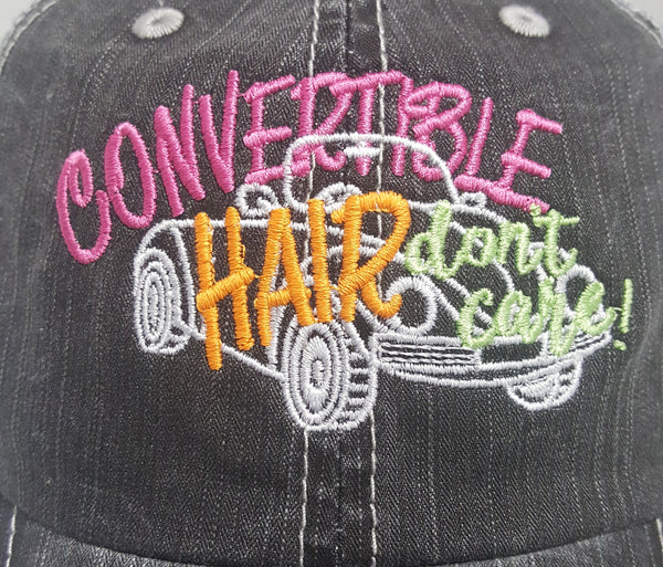 Convertible Hair Don't Care Cap