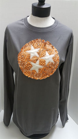 Tennessee Tri-Star Applique T-Shirt
