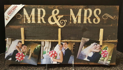 Mr & Mrs Photo Holder