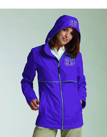 Charles River Ladies Rain Jacket