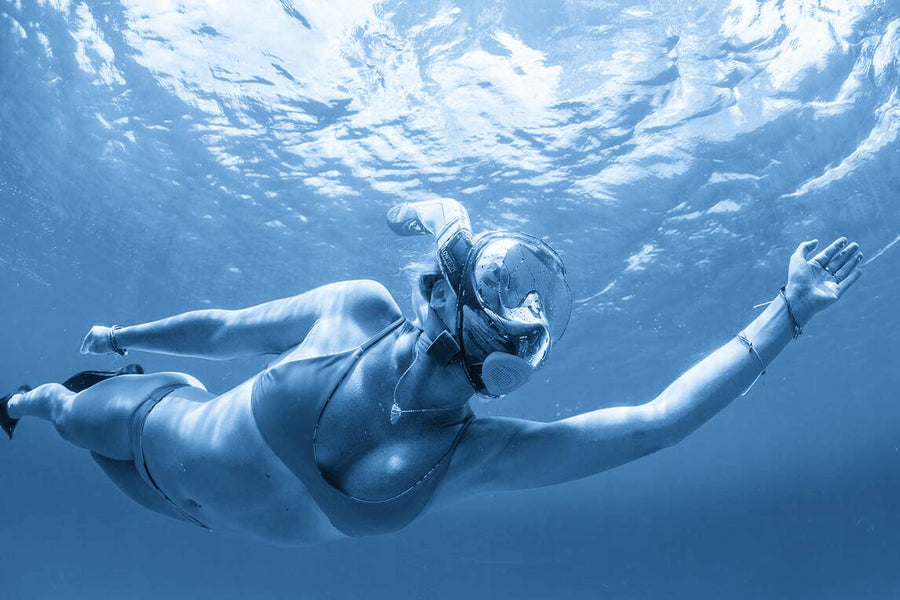 How Does A Full Face Snorkel Mask Work?