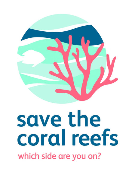 save the coral reefs