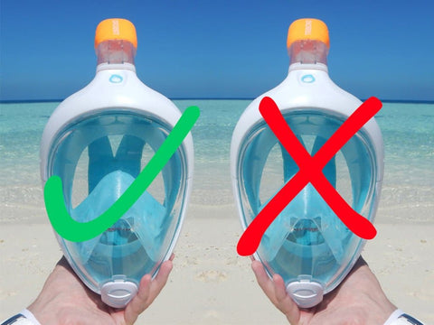 Amazon full-face Snorkels: Why You Can't Trust Them