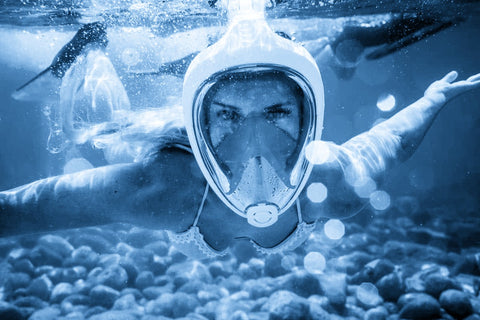 Who Shouldn't Usa a Full Face Snorkel