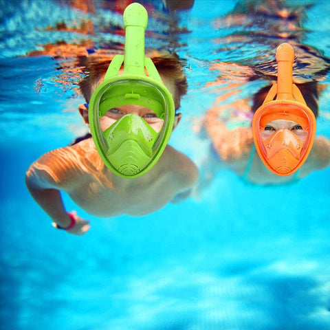can kids use a full face snorkel