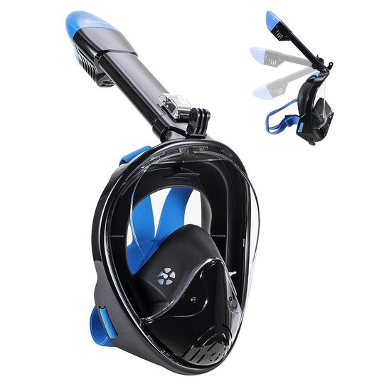 Full Face Snorkel Mask - New 2021 Version