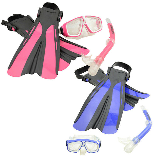 Kids Traditional Snorkel Set