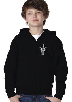 "CTD ""Little Roughneck"" Youth Zip-Up Hooded Sweatshirt"