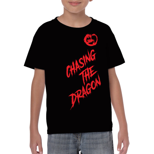 Chasing Dragon T-Shirt for Youth
