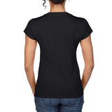 $15 Chasing Dragon V-Neck T-Shirt for Gals