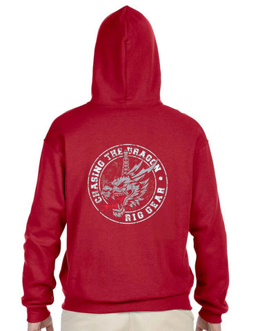 "CTD ""NEW' DRAGON STAMP HOODED SWEATSHIRT"