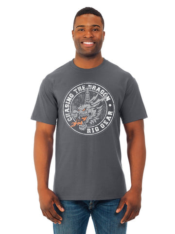 CTD MEN'S DRAGON STAMP SHORT SLEEVE TEE