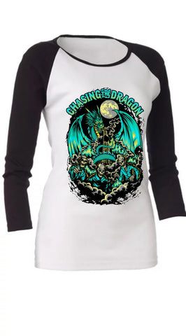 CTD ZOMBIE LADIES RAGLIN T-SHIRT