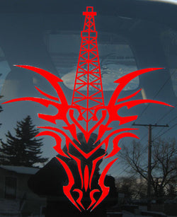 CTD Red Legend Cut Decal