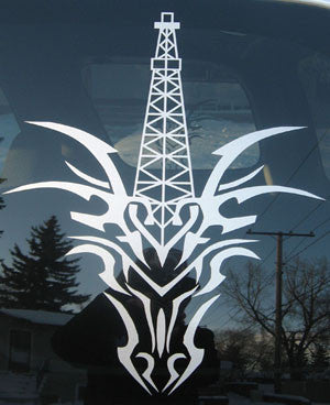 CTD White Legend Cut Decal