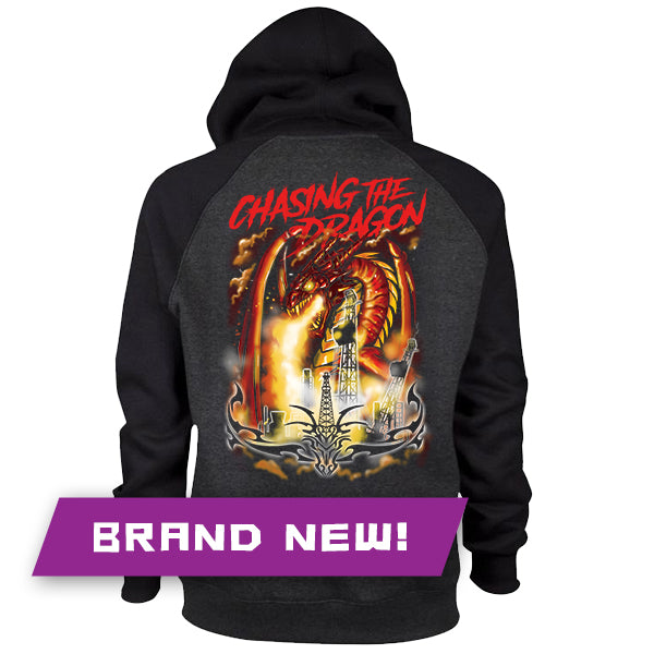 "CTD ""Pullin' Dragon"" Zip-Up Hoodie"