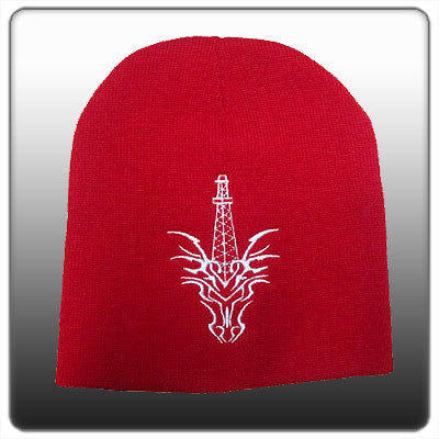 CTD RED/WHT TOQUE