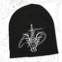 Black Toque with CTD Monogram