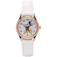 Disney Original Mickey White Leather Watch 34mm