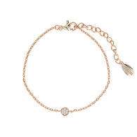 Georgini Rose Gold Dotti Bracelet