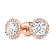 YOYO ROSE GOLD STUD EARRING