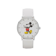 Disney Formal Mickey Silver Watch 40mm