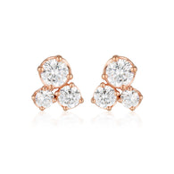 Georgini Callix Stud Rose Gold