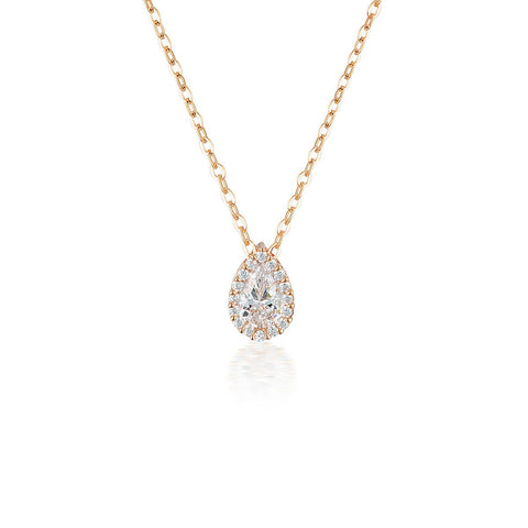 GEORGINI MONACO ROSE GOLD PENDANT