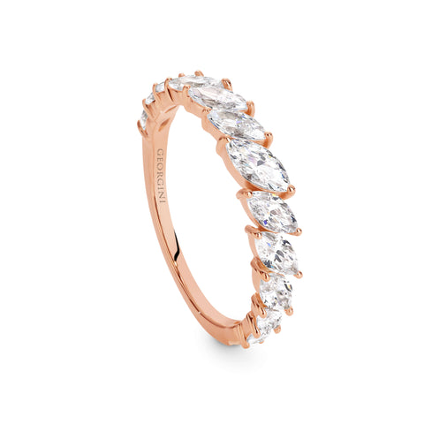 ORION ROSE GOLD RING SIZE 7
