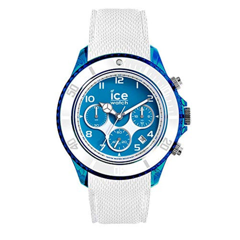 Ice-Watch 014220 Men's Quartz Watch, Analog Display and Silicone Strap