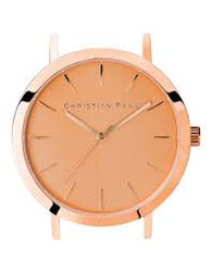 CHRISTIAN PAUL 35MM CAPITAL BRUSHED ROSE GOLD DIAL & ROSE GOLD CASE - CAP-RG-RG-35MM